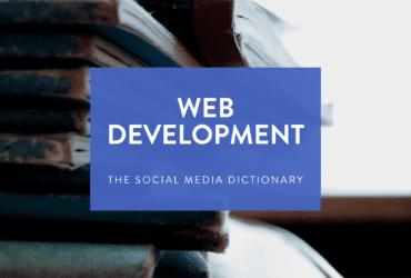 web development terms