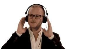 stock headphones
