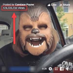 Facebook Live Video Candace Payne