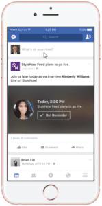 facebook live video scheduled stream