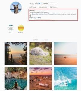 Australia Instagram