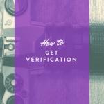 get verified