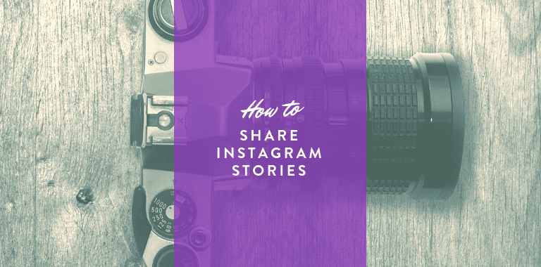 share instagram stories