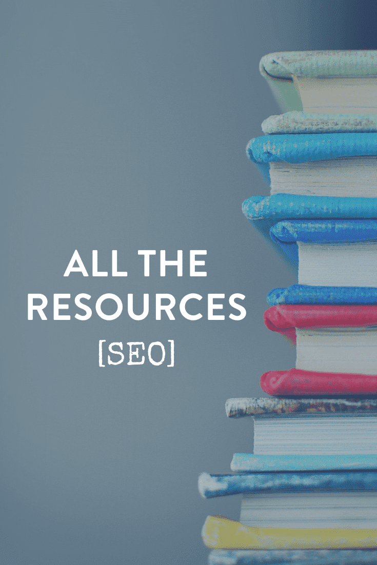 SEO Marketing For Business // All The Resources