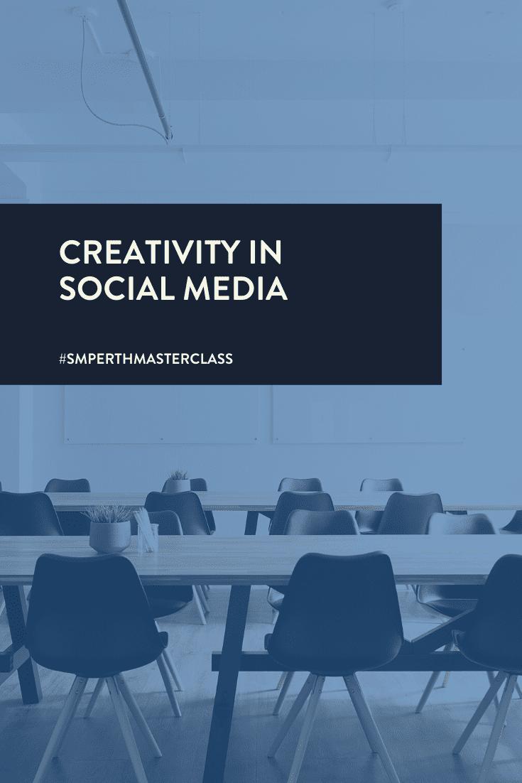 Creativity in Social Media Workshop