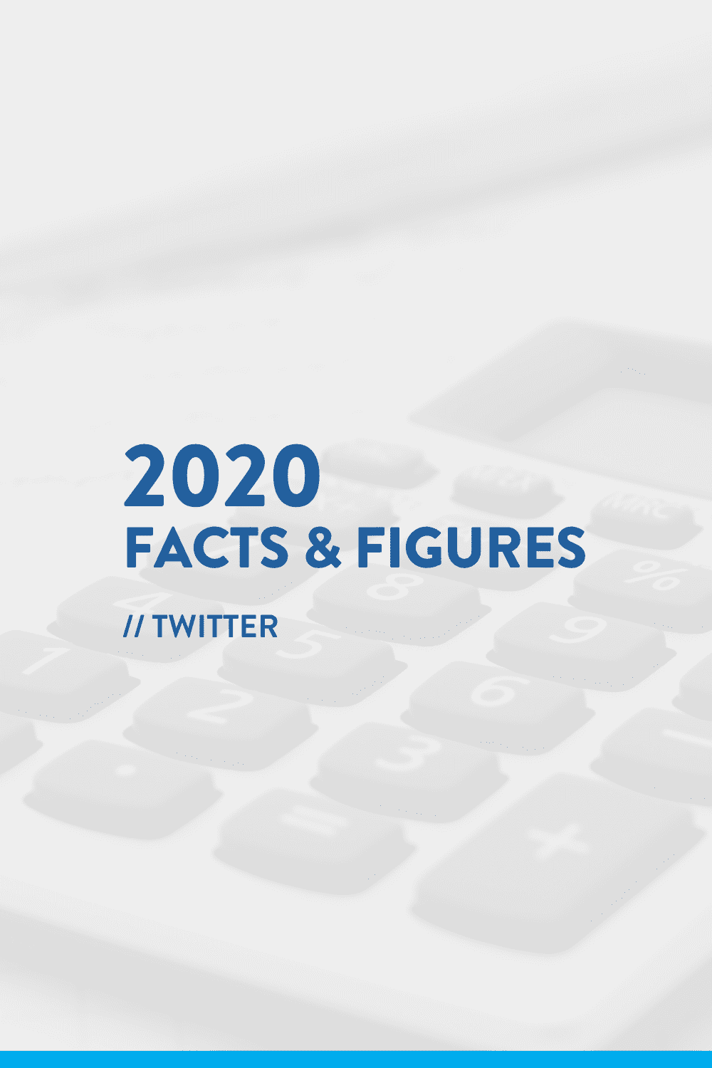 2020 Facts & Figures // Twitter Statistics