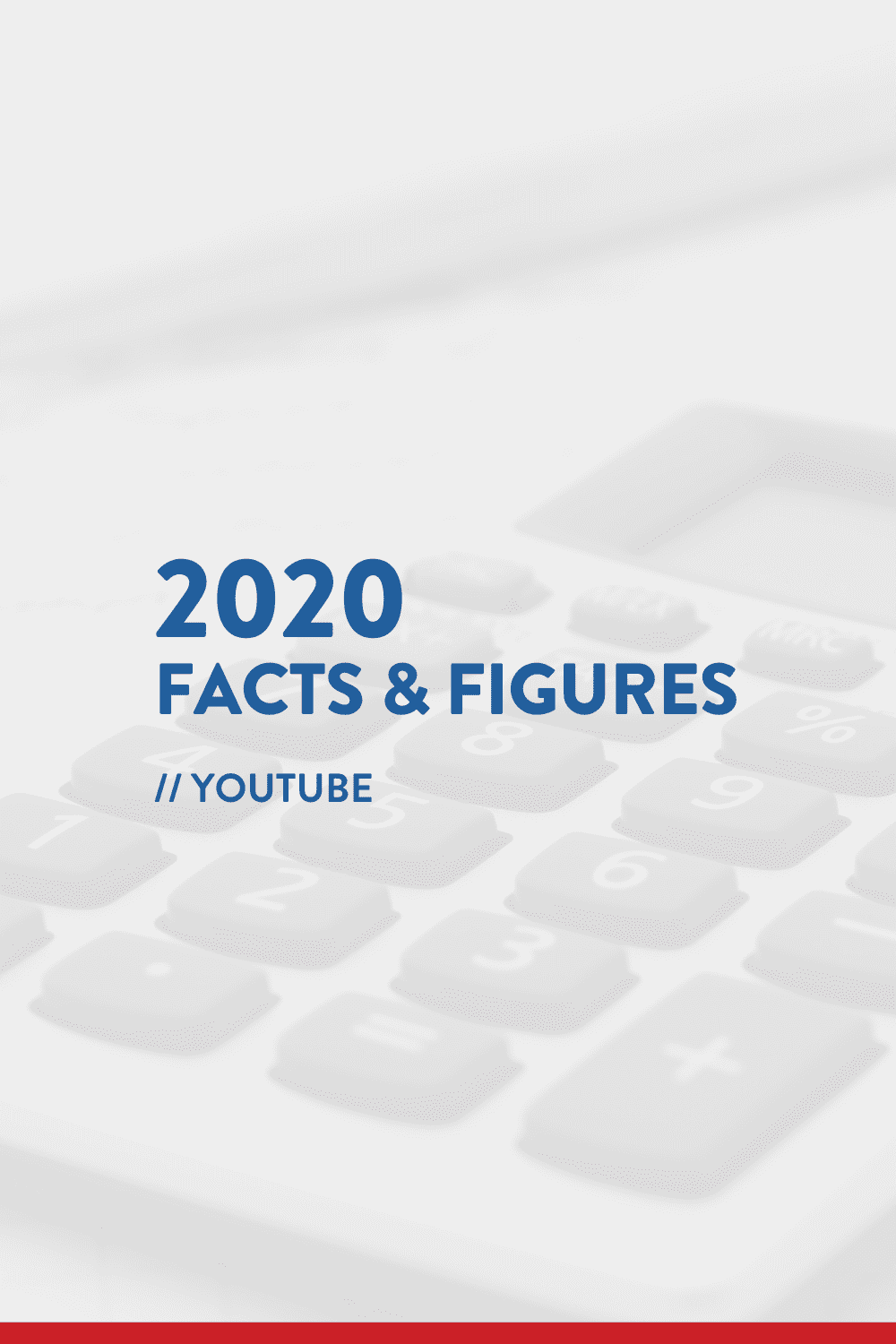 2020 Facts & Figures // YouTube Statistics