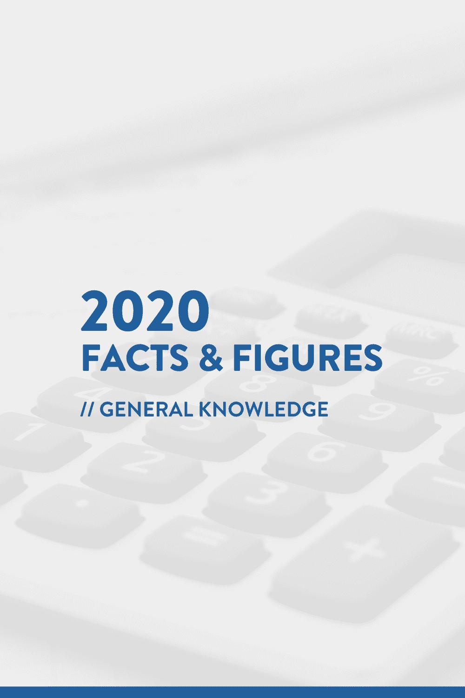 2020 Facts & Figures // Social Media Statistics