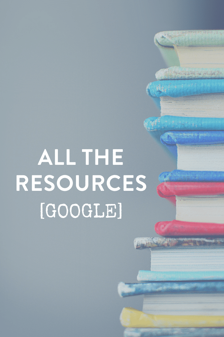 Google Marketing for Business // All the Resources