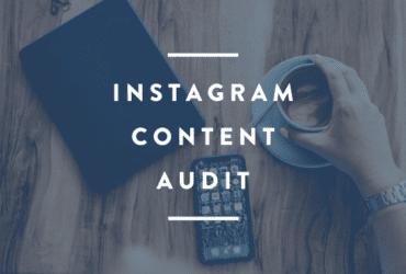 instagram content audit