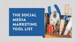The Social Media Marketing Tool List