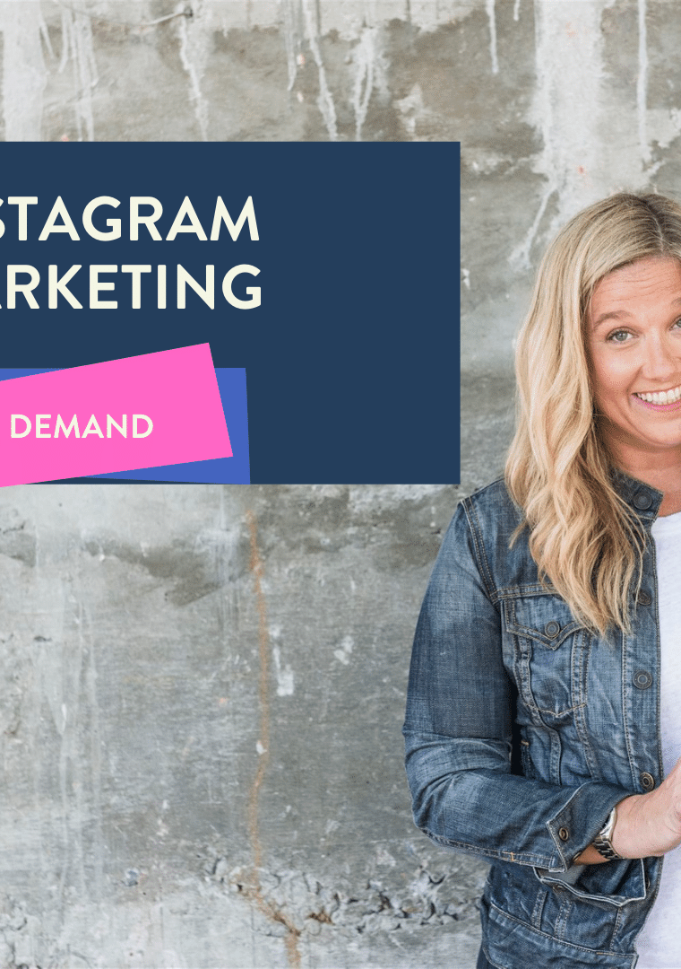ig marketing on demand