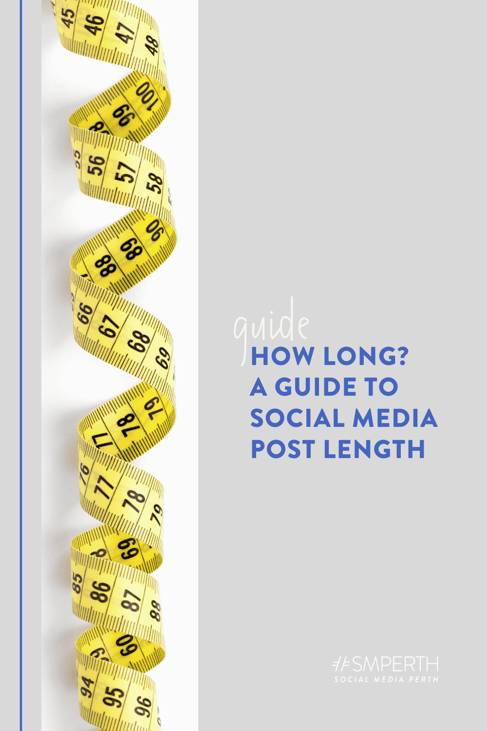 How Long? A Guide to Social Media Post Length