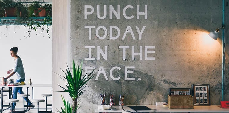 work life balance punch