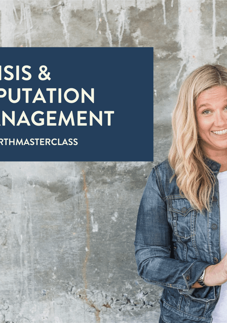 crisis & reputation mgmt