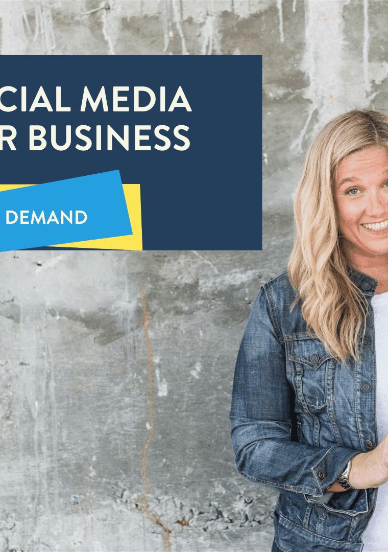 social media for business on demans