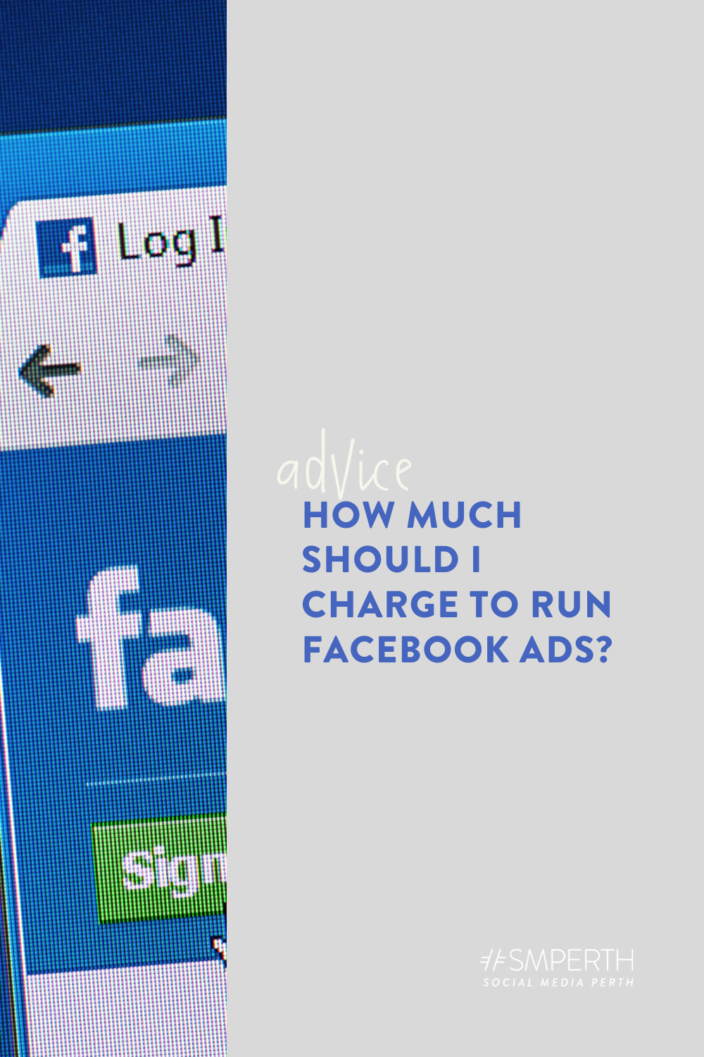 How much should I charge to run Facebook ads?