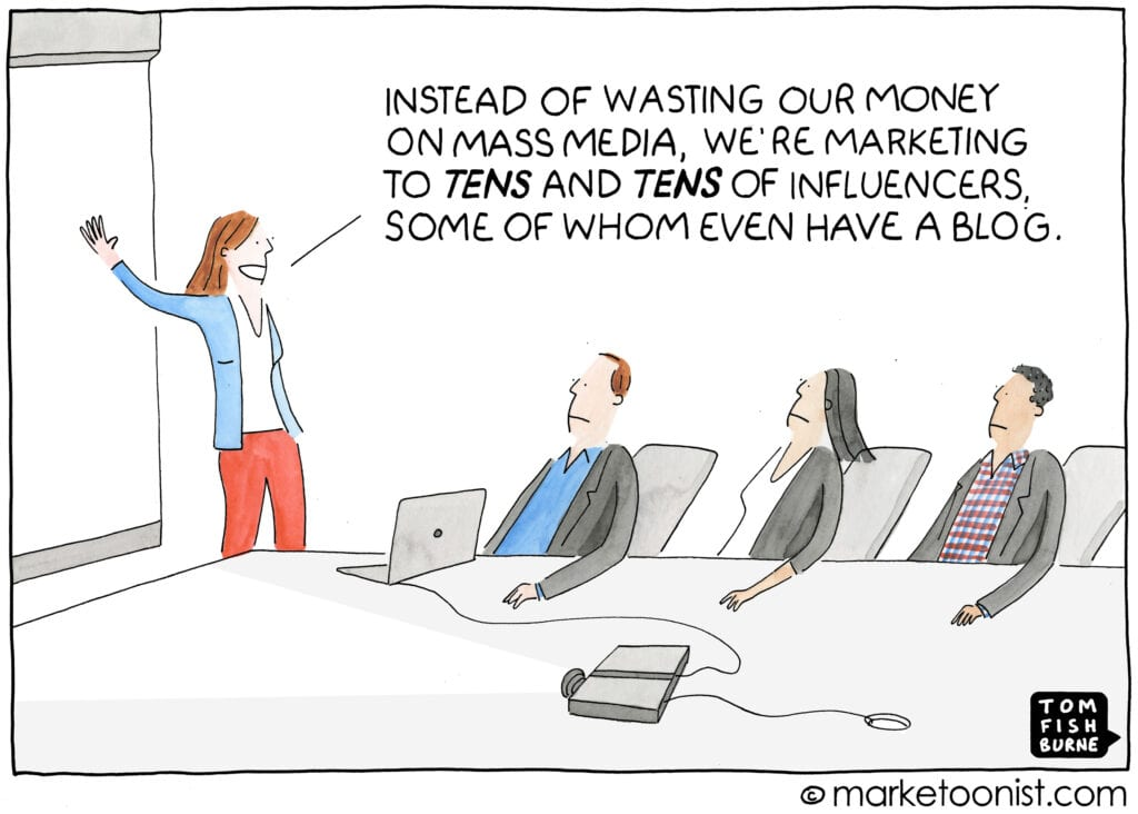 Marketoonist - Influencer Marketing