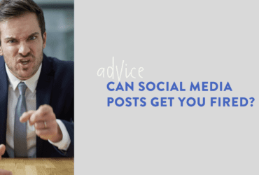 Can social media posts get you fired