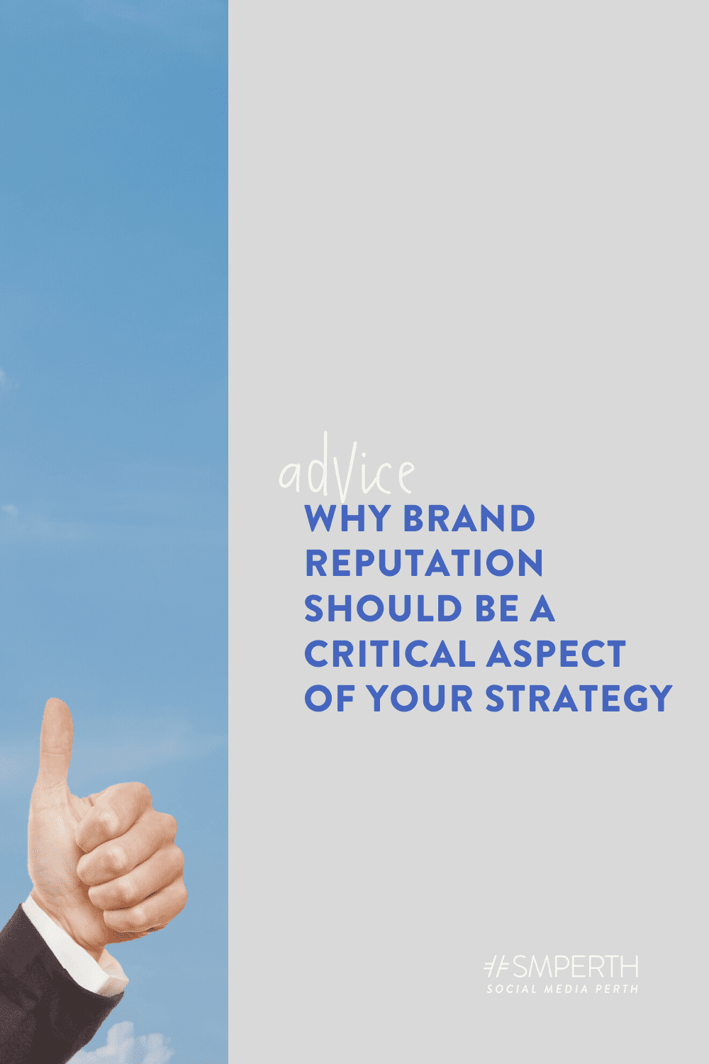 Why brand reputation should be a critical aspect of your market strategy