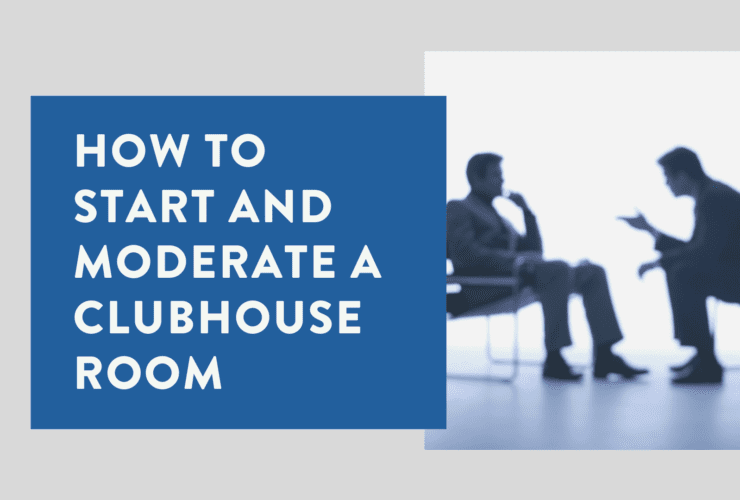 How to start and moderate a Clubhouse Room