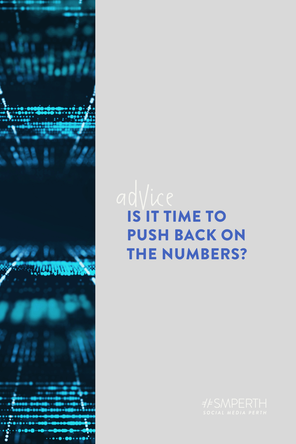 Is it time to push back on the numbers?