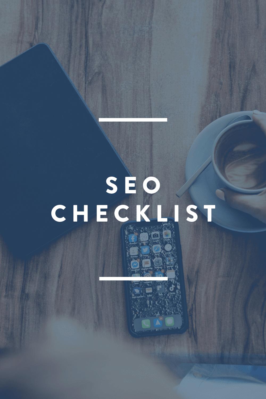 SEO Checklist // FREE DOWNLOAD