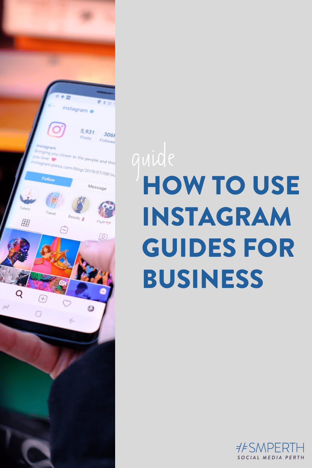 How to use Instagram Guides for business