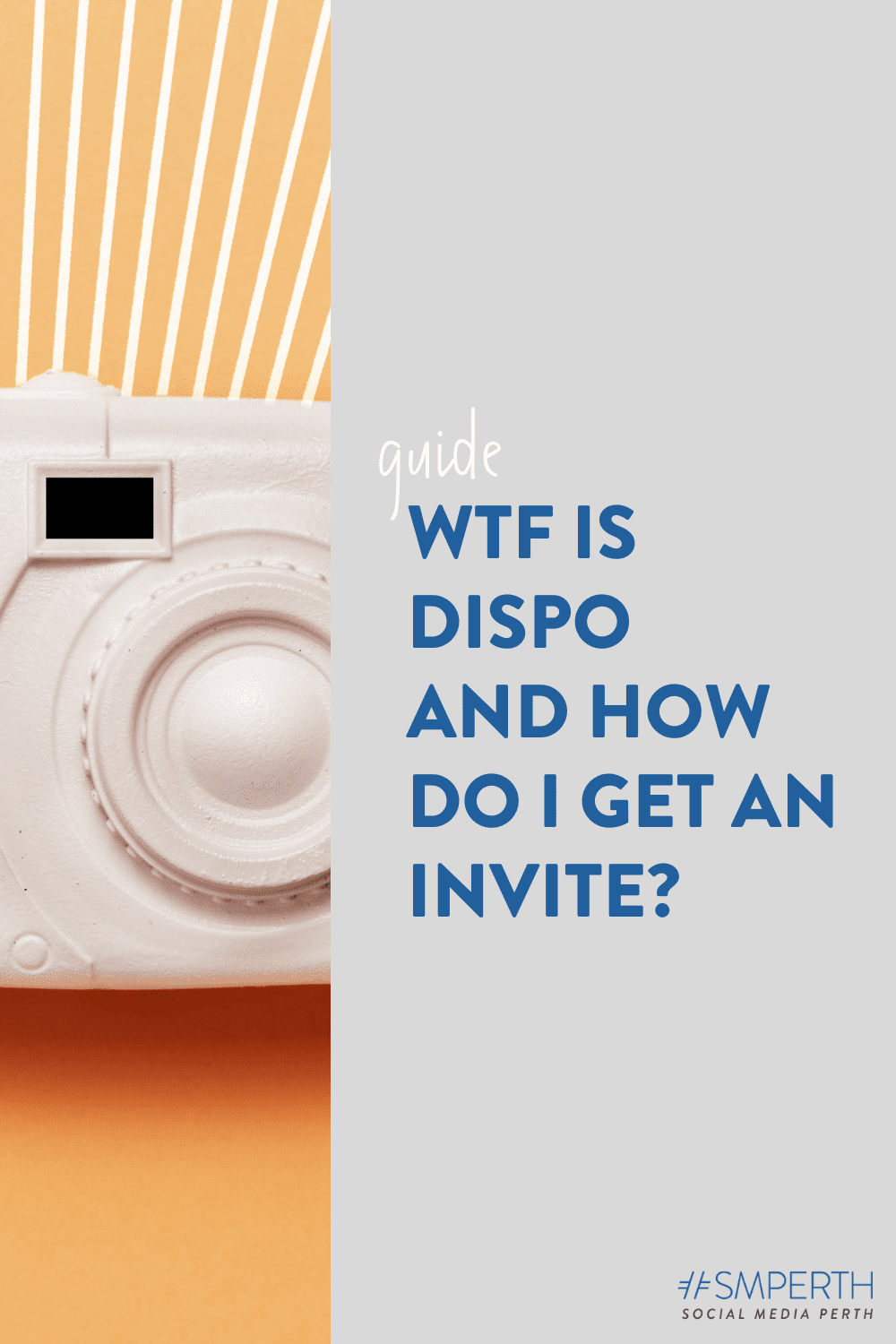 WTF is Dispo, and how do I get an invite?