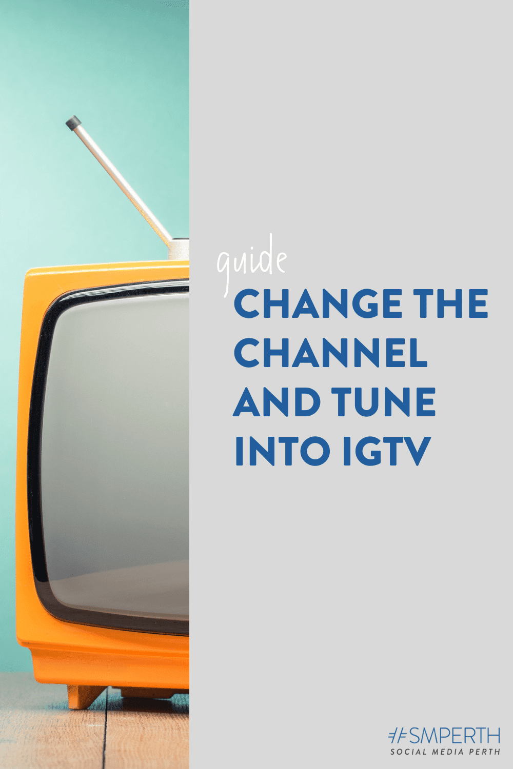 Change the channel and tune into IGTV