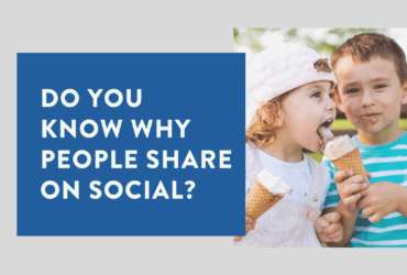 do you know why people share on social