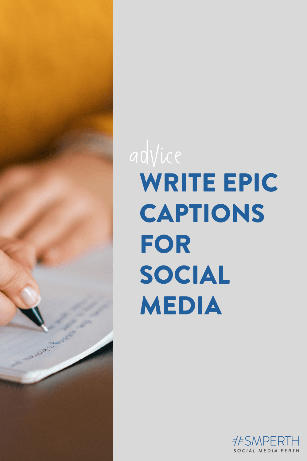 3 Hot Tips for Writing Epic Captions